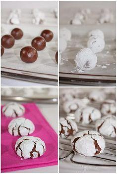 Γλυκές Τρέλες: Μαλακά μπισκότα σοκολάτας στο λεπτό ! Greek Cookies, Cake Cookies, Cupcake Cakes, Cookie Recipes, Dessert Recipes, Desserts, Jam Tarts, Mini Cheesecakes, Christmas Sweets