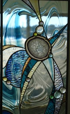 SOLD stained glass window RESERVED for by ZuniMountainArtGlass
