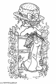 Free coloring pages of sarah kay Free Adult Coloring Pages, Bible Coloring Pages, Coloring Books, Colorful Drawings, Colorful Pictures, Cute Drawings, Stencil Patterns, Embroidery Patterns, Hand Embroidery