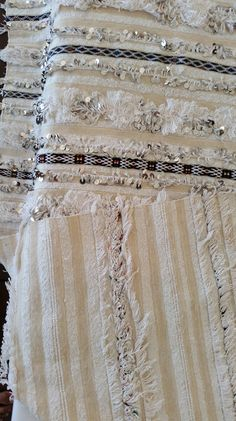 Large moroccan wedding blanket wool / Moroccan by MoroccanTribal