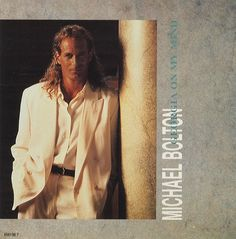 """For Sale - Michael Bolton Georgia On My Mind UK  7"""" vinyl single (7 inch record) - See this and 250,000 other rare & vintage vinyl records, singles, LPs & CDs at http://eil.com"""