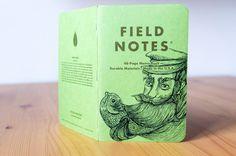 DIN A6 - Shenandoah #121 Field Notes - ein Designerstück von pixelgraphix bei DaWanda