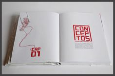 Conceptual art book; inspired by James Jean's work. -Chapter opening.
