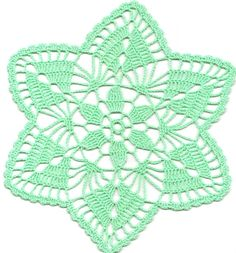 Crochet doily lace doily table decoration crocheted by DoilyWorld, £1.86