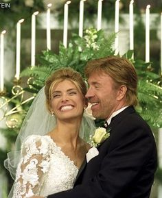 Chuck Norris married Gena O'Kelly in November 1998