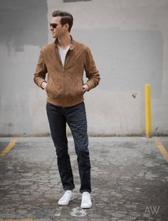 4e2d92bd29 8 Simple Ways Of Wearing Suede Jackets But Look Cool  Men