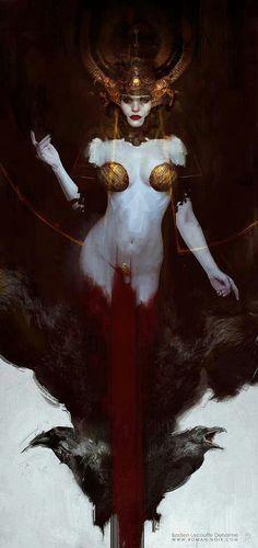 Diosa Guerrea Celta