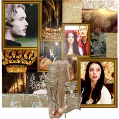 Favorite ships - Mary queen of Scots and Francis, King of France by lady-ashley-snape on Polyvore featuring Temperley London, Badgley Mischka, Pier 1 Imports, Martha Stewart, Zuhair Murad and Von Vonni