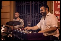 Keyboardist by Giancarlo Gallo