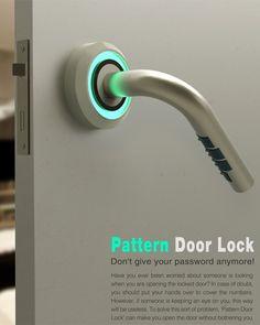 安全升级,隐藏式盲文锁 Pattern Door Lock 概念设计 | 理想生活实验室