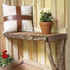 30 diy rustic decor ideas using logs home diy rustic decor, Diy Rustic Decor, Diy Home Decor, Log Decor, Rustic Bench, Rustic Wood, Decor Crafts, Deco Nature, Diy Casa, Log Furniture
