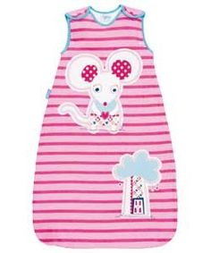 find Grobag Sleeping Bag Mousie In The Housie 6-18m at minikids.co.uk