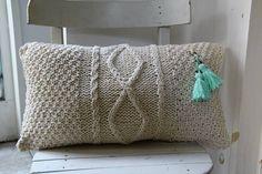 Almohadón tejido