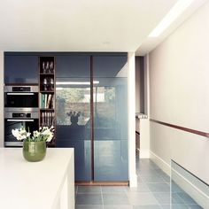 Bespoke Kitchen designed by Robinson van Noort - Contemporary Residential Design, London - Acfold Road, London Modern Family, Home And Family, Bespoke Kitchens, Kitchen Design, Kitchen Ideas, London, Home Kitchens, Van, Contemporary