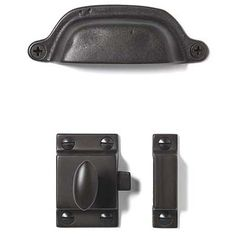 Love these pulls and latches from restoration hardware, just so happens I need some for my kitchen! yay!