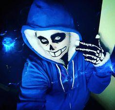 Wanna have a bad time?  #skeleton #undertale #undertalecosplay #sans…