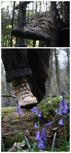 "How to Make Moccasin Boots Project Homesteading  - The Homestead Survival .Com     ""Please Share This Pin"""