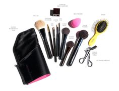 Today I have a roundup of what makeup I brought with me on my 3-week vacation. My travel beauty picks for makeup and tools were packed into my Anya Hindmarch In Flight Patent leather-trimmed travel case and MustaeV Bloom Pouch (liquids, skincare and fragrance packing in this post here). These kept everything compact, organized and made everything relatively easy to find. Above photo: Longchamp Expandable Tote, Marc by Marc Jacobs…