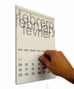 """'Scratchenderは """"ミスタートム·デザインのためのアグストウモロコシによるスクラッチカードカレンダー»ヤンコデザインです"""