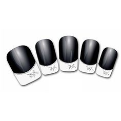 Tint Lovely Diamond Cartoon Finger Nail Stickers -- Click image for more details.