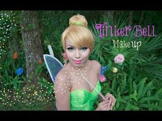 Fairy Tinker Bell Make-up Tutorial (Giveaway)