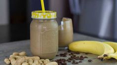This chocolate peanut butter smoothie is a great dairy free alternative to a traditional thick shake. It is decadent and rich... almost like a breakfast and dessert all rolled into one! This is not an everyday food for me, but a great whole food plant based treat that is 100% vegan. Chocolate Peanut Butter Smoothie - This chocolate
