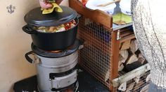 EcoZoom Raketenofen. Für zwei Tage gekocht. Herd, Cooker, Vacuums, Kitchen Appliances, Prepping, Camping, Inspiration, Outdoor Cooking, Good Ideas