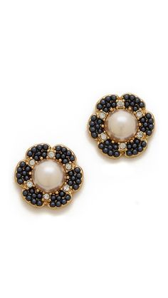park floral stud earrings / kate spade