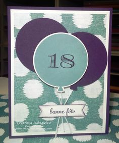 Celebrate Today - Stampin' Up! by Karine Cartier www.creationshabsgirls22.com
