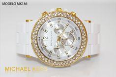 Reloj Michael kors dama blanco