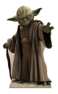 Complete your Star Wars party supplies with our Yoda Life-Size Cardboard Cutout. This Yoda cutout is great for DIY photo booths and Star Wars party decorations. Star Wars Film, Star Wars Yoda, Star Trek, Star Wars Party, Star Wars Birthday, Clone Wars, Star Wars Characters, Star Wars Episodes, Yoda Species