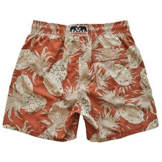 "Love Brand & Co.  Swimming trunks - ""Pineapple punch"" Style"