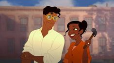Tiana and Naveen have been running their restaurant Tiana's Palace with great success. They've had numerous offers to sell their restaurant so it could be turned into a food chain, but they refuse. It's a New Orleans staple and a restaurant tourists have been going to for years.
