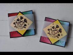 Tutorial: Diamond Fold Card mit Produkten von Stampin' Up! basteln - YouTube