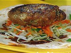 Moo Shu Pork Pockets recipe from Rachael Ray via Food Network