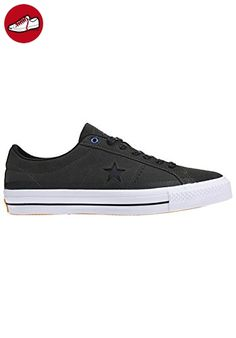 Converse Skateboard One Star Mid Black / White Sneakers Shoes, Schuhgrösse:37.5