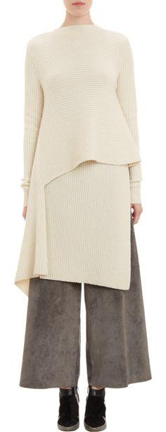Derek Lam Origami Wrap Sweater ORIGAMI-WRAP SWEATER