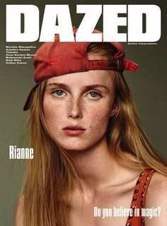 Julia Nobis and Rianne van Rompaey for Dazed Winter 2015