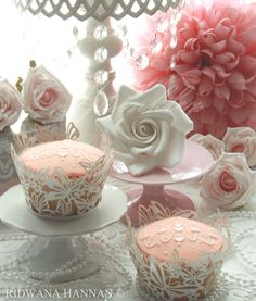 Chandelier Cupcakes / By s p r i n k l e z (Ridwana Hannan)