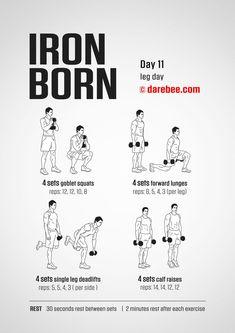Iron born day 11