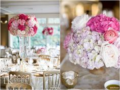 This #LakeGenevaWedding at #BigFootCountryClub was pretty, pink & perfect! Photos by galleries.averyhouse.net