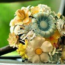 how to: brooch bouquet