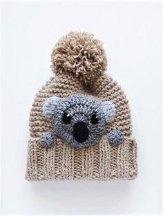 Accessori inverno cappello e sciarpa Koala cappello