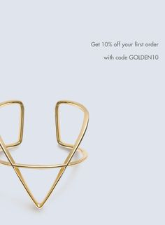 """Meet the Warby Parker of Fine Jewelry"" - Marie Claire  10% off your first purchase with GOLDEN10"