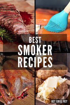 Smoked Prime Rib Roast, Smoked Pork Chops, Smoked Pulled Pork, Smoked Beef, Smoked Brisket, Smoked Whole Chicken, Smoked Chicken Wings, Smoker Grill Recipes, Grilling Recipes