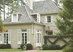 Classic French Residential Architecture in Birmingham, AL | Carraway & Associates Architects