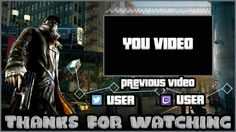Watch Dogs Outro Template FREE SONY VEGAS PRO 11, 12, 13