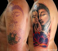 cover upTattoo jobs | Cover Up Jobs, Recolor, Fix & Remake Old Artworks | We make custom ...