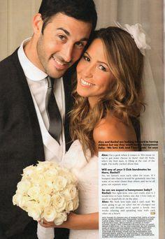 rachel stevens and Alex Bourne-wedding-2009