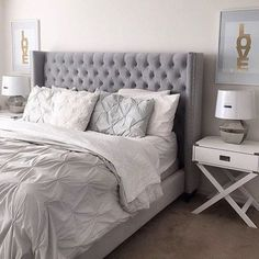 Sweet dreams are made of this… Our Roberto Bed pops in @sassysoirees'